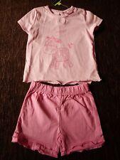 Niñas Conjunto Traje Corto Camiseta 3-6 meses Cherokee Tesco