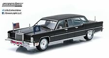 GREENLIGHT 1:43 PRESIDENTIAL LIMOS - 1972 LINCOLN CONTINENTAL - GERALD R. FORD