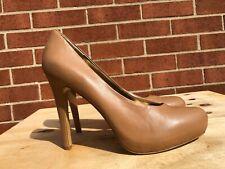 Nine West Sweet Girl Nude Tan Heels Pumps shoes Women Size US 11 M