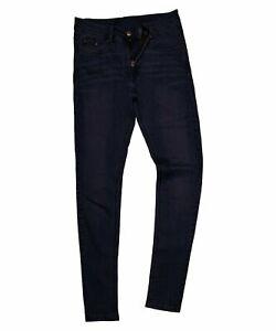 Ladies Womens Slim fit Sand Wash Denim Spandex Black Jeans Trouser