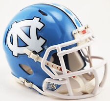 North Carolina Tar Heels Riddell SPEED Mini Helmet - 2015 Checkered Stripe
