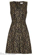 *SOMERSET BY ALICE TEMPERLEY* JACQUARD BLACK DRESS UK10