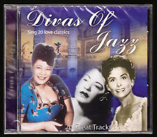DIVAS OF JAZZ - 20 LOVE CLASSICS - 20 TRACKS - NEW & SEALED CD