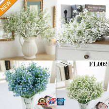 3 x Bunches Artificial Baby's Breath Fake Silk Flower Home Wedding Garden FL002