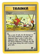 Pokemon Team Rocket Digger Uncommon Trainer 75/82 - NearMint