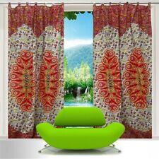 Indian Curtain Bohemian Wall Drape Panel Hippie Cotton Window Decoration 1 Panel