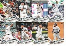 2017 Topps Update Seattle Mariners Complete Team Set 16 cards, Nelson Cruz, Cano