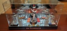 CUSTOM Dale Earnhardt Display case 1:64 7x Champ FULL CHROME set & Iconic Paints