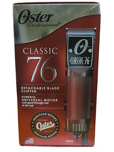 Oster Classic 76 Universal Motor Clipper - Red