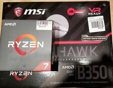 AMD Ryzen 7 1800X, MSI B350 TOMAHAWK CPU/Motherboard Bundle