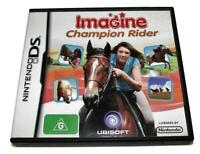 Imagine Champion Rider DS 2DS 3DS Game *No Manual*