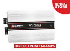 Taramps DS 1200X4 1200 Watts 2 OHMS Amplificador Clase D 2 canales 300W RMS