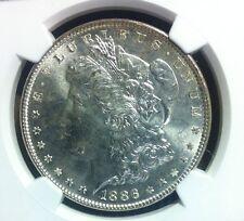 1886 NGC MS 65 Morgan Silver Dollar - Gene L. Henry Silver Dollar Hoard.