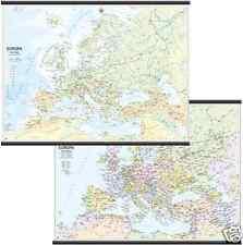 Europa Cartina Scolastica Murale [132x99] [Bi-Facciale] [Carta/Mappa] Belletti