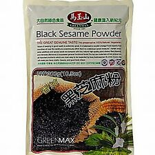 300g Black Sesame Powder Men Women 100% Nature Hair Loss Control Regrowth Drink