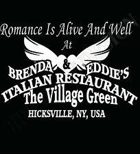 Billy Joel Inspired T-Shirt The Stranger Scenes From An Italian Restaurant 70's