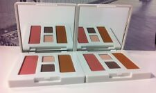 Lot 2 x Clinique Eye Shadow Pink Slate Duo and Blush New Clover & Sunkissed Duo
