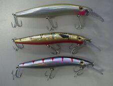 3 CASTORM barra PRO fishing lures brand new 125mm long, VMC hooks