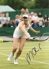 Mona Barthel Germany Tennis 5x7 PHOTO Signed Auto