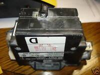 Square D Circuit Breaker 100 Amp 2POLE QOM100 TYPE QOM1