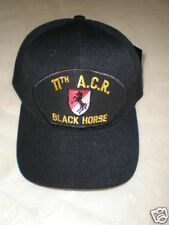 U.S. ARMY 11TH A.C.R. BLACK HORSE Military Cap