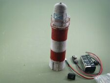 More details for ex-display oo railway scenery. 4mm 1:76 painted pier head light with flasher