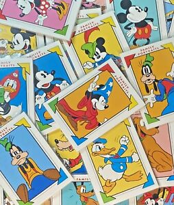 YOU CHOOSE!! 1991 Disney Impel Trading Cards Collectors Items Mickey Goofy Pluto