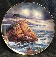 God Bless America Danbury Collectors Plate After the Storm Big Sur w/Box