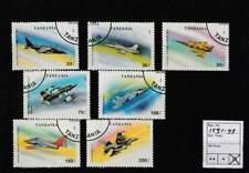 Tanzania gestempeld 1993 used 1591-1597 - Vliegtuigen / Airplanes