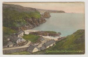 Cornwall postcard - Kynance Cove, Lion Rock and Lizard Head (A1950)