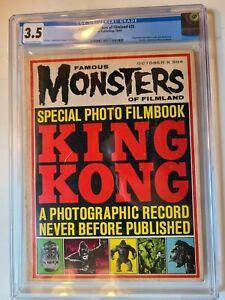 FAMOUS MONSTERS OF FILMLAND # 25 (1963 KING KONG) WARREN CGC 3.5