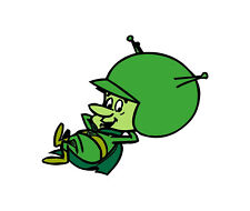 The Flintstones The Great Gazoo Sticker Vinyl Decal 2-580