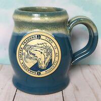 Saratoga Coffee Traders Deneen Pottery Mug TIME IS AN ILLUSION Salvador Dali