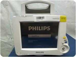 PHILIPS INTELLIVUE MP30 M8002A VITAL SIGNS MONITOR ! (277423)