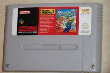 Super NES SNES Cartucho Super Mario falta PAL Reino Unido