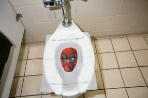 Marvel Deadpool Toilet Seat Cover - Rare Collectable - SDCC 2018