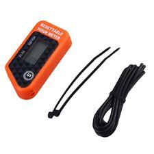 Resettable Hour Meter / Tachometer Maintenance & Timer System Gas Engine JL