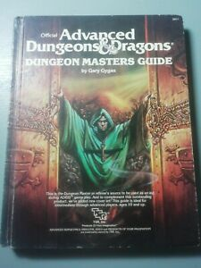 Advanced Dungeons & Dragons:  Dungeon Masters Guide 1979 Revised Ed. Gary Gygax