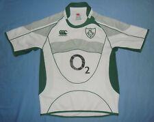 Ireland (IRFU) / 2007-2009 Away - CANTERBURY - JUNIOR rugby Shirt / Jersey. 10y