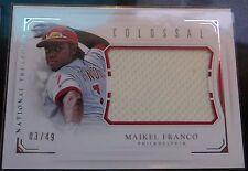 2016 National Treasures - Maikel Franco Phillies - Relic Card 3/49