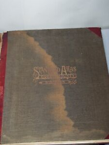 Vintage 1918 STANDARD ATLAS Green County Wisconsin Plat Book Maps Geo. Ogle