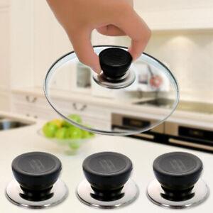 6 Stück Pfannendeckel Küchentopf Pfanne Ersatzabdeckung Griffknöpfe Anti ScaCWSC