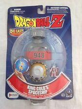 DRAGONBALL Z /KING COLDS SPACESHIP/ DIE-CAST VEHICLE / FIGURE & CAPSULE