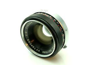 Topcor 53mm f2 UV Camera Lens 5417888 FAULTY APERTURE MECHANISM