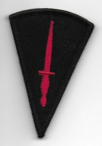Royal Marine Commando Dagger Badge Patch