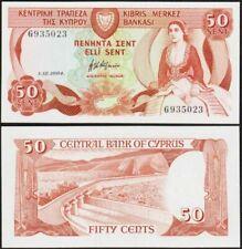 Billets d'Europe du Sud de Chypre