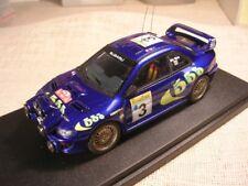 SUBARU IMPREZA WRC 555 RALLY MONTECARLO 1998 MC RAE RENAISSANCE 1/43 TRUE