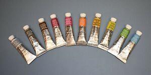 Winsor & Newton Professional Watercolour Paints 5ml Tubes **10 UNIQUE COLOURS**