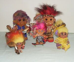 Caveman Troll Doll Family Custom OOAK Artist Handmade Mom Dad Teen Tween Baby