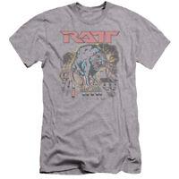 RATT SHOCKED Licensed Adult Men's Graphic Band Tee Shirt SM-5XL